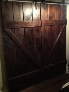 Thrifty Woodshop Barn Style Doors