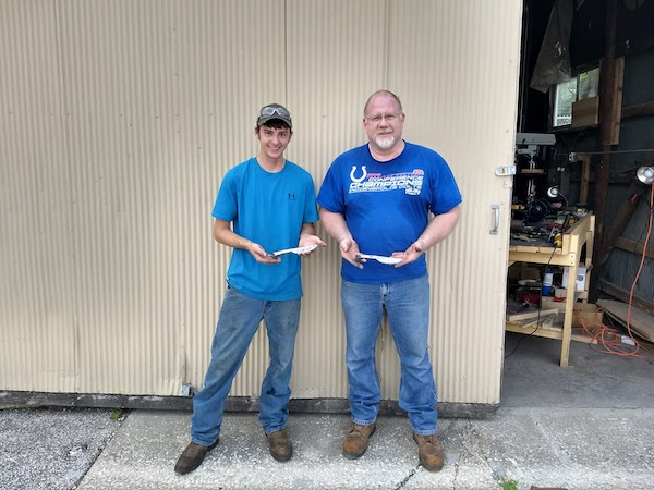 Father and Son Knife Class - Brown County Forge