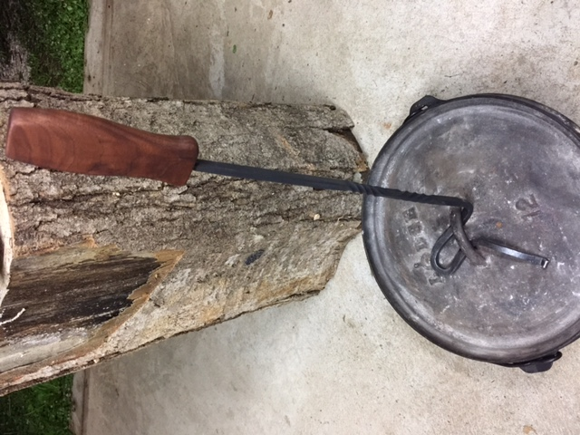 Darin York - Dutch Oven Lid Lifter 2 - Brown County Forge