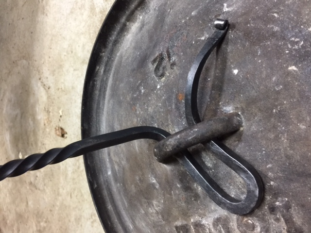 Darin York - Dutch Oven Lid Lifter - Brown County Forge