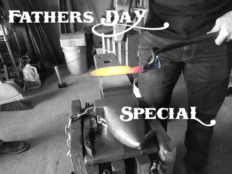 Father's Day Special - Brown County Forge Blacksmithing Classes