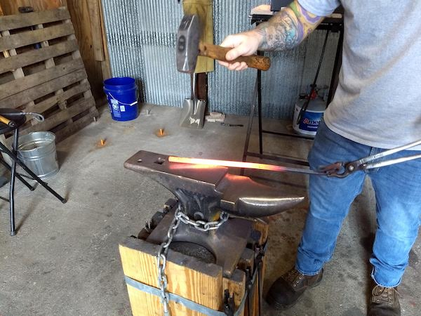 Seymour Indiana - Blacksmith Classes - Brown County Forge