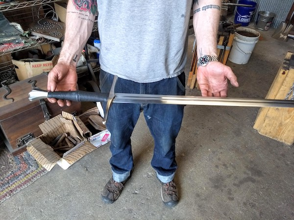 Sword Sharpening Service Indiana - Brown County Forge