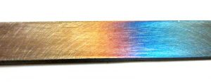 Tempering Colors In Steel - Brown County Forge