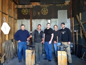 Blacksmithing in Indiana - Brown County Forge