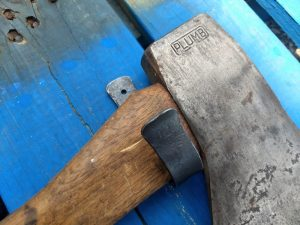 Axe Hooks - Ax Hooks - Brown County Forge
