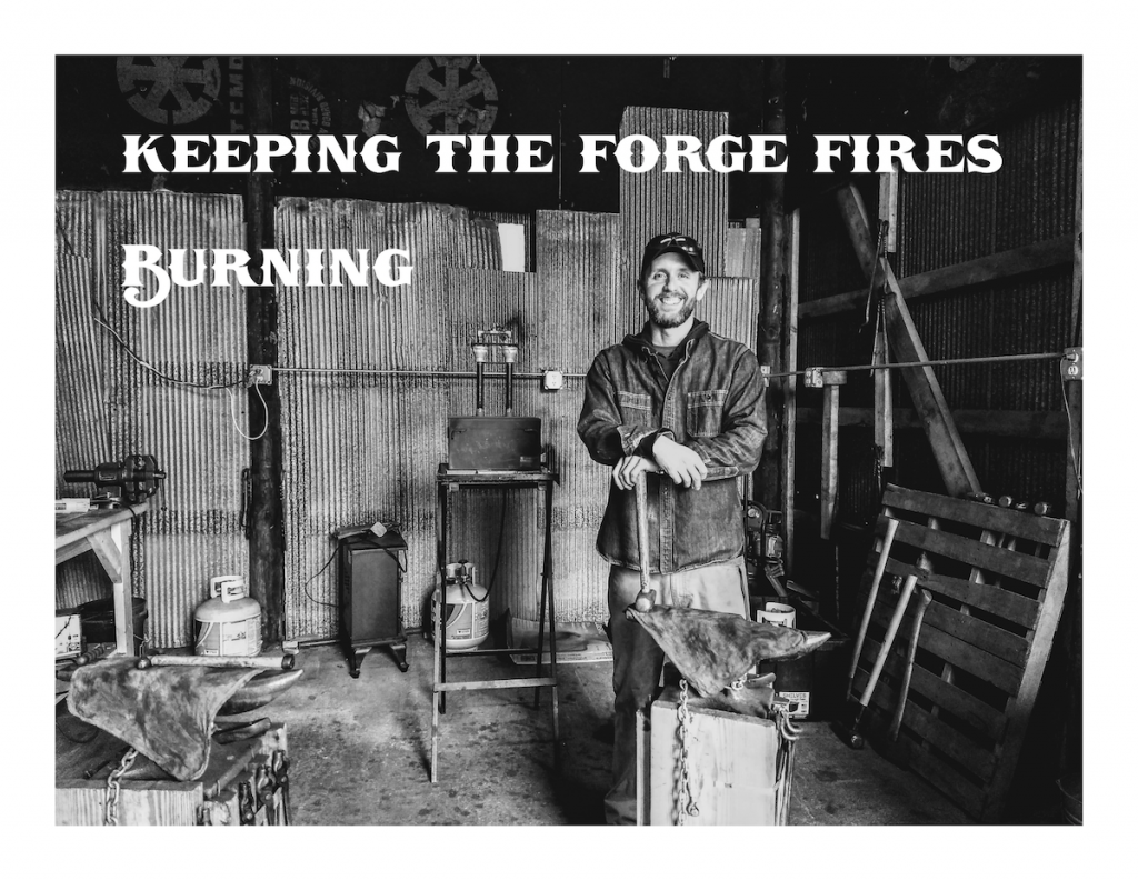 Keeping the Forge Fires Burning - Brown County Forge COVID-19