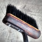 Custom Fire Tools Fireplace Broom - Brown County Forge