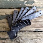 Large Ironwork Coat Hooks - Brown County Forge