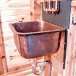 Tiny House Hardware - Copper Sink Supports - Ironwork - Brown County Forge