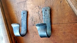Boat Paddle Hooks - Oar Hooks - Brown County Forge - Terran Marks the Blacksmith