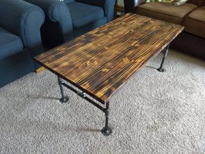 Coffee Table Project - Brown County Forge