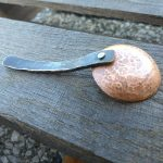 Copper and Steel Kitchen Utensils - Coffee Scoop - Brown County Forge