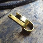 Custom Brass Hooks - Brown County Forge