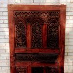 Large Ironwork Brackets for Teakwood door - Brown County Forge