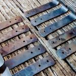 Large Towel Hooks - Brown County Forge