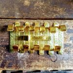 Shiny Brass Hooks - Brown County Forge