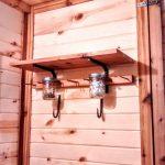 Tiny House Hardware - Ironwork Shelf Brackets and Hooks - Brown County Forge