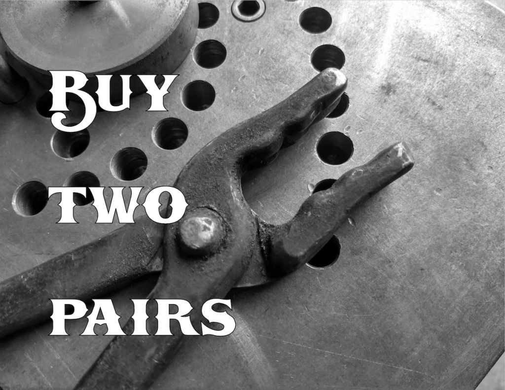 Buy Two Pairs of Tongs - Brown County Forge