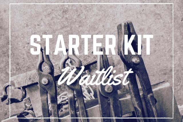 Blacksmith Starter Kit Waitlist - Brown County Forge
