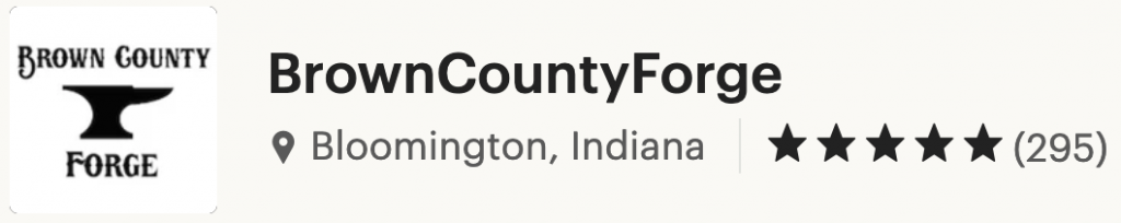 Brown County Forge Reviews